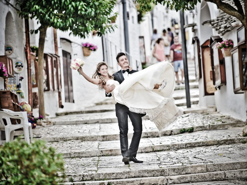 Destination wedding planner in Puglia